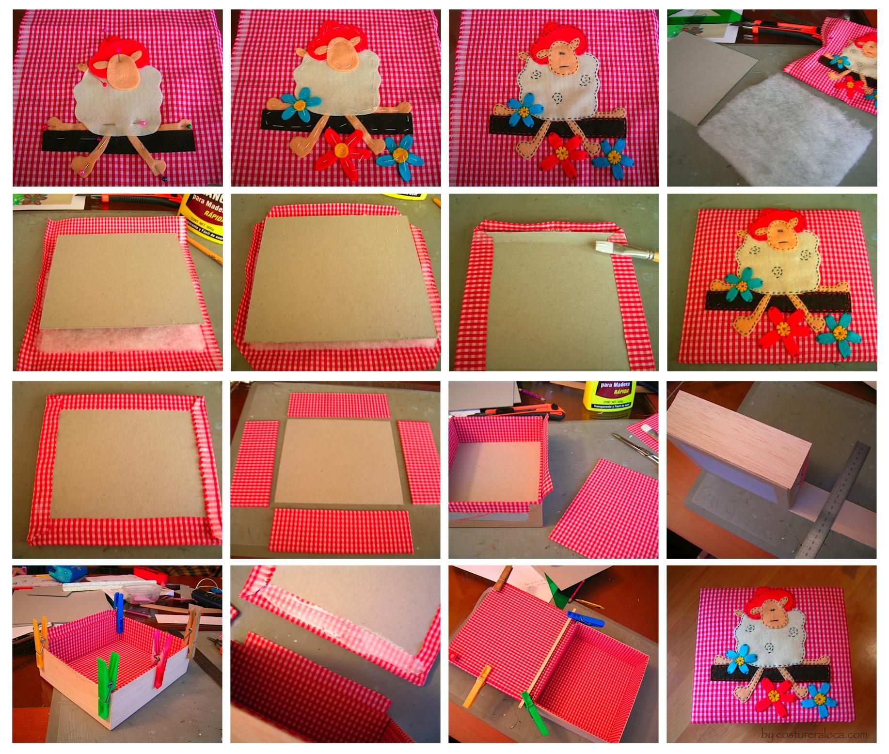como hacer cajas decorativas paso a paso imagui